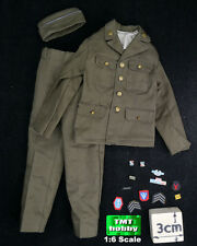 1:6 Scale Soldier Story WWII US Infantry HENRY SS059 -Uniform w/ Cap & Patches