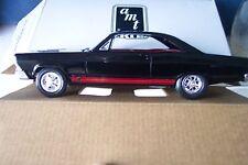 AMT/Ertl #6715 1966 Fairlane GT/A Raven Black Replica 1:25 Plastic Promo Car