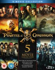 Pirates of the Caribbean 5-Movie Collection [Blu-ray] New and Factory Sealed!!