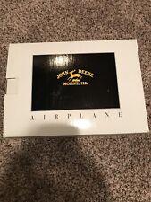 Spec Cast John Deere Vintage Airplane Bank Air Model R Stock 35002