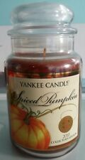 Yankee candle Spiced Pumpkin 2010 Collector's Edition