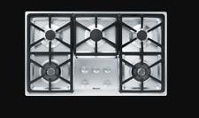Miele Km 3474 Lp - Gas Cooktop with 2 Dual Wok Burners, Liquid Propane