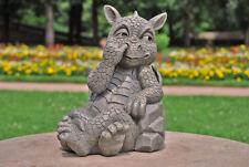 Süsser Gartendrache bohrt in der Nase Drachenfiguren Drachen Figur Figuren Deko