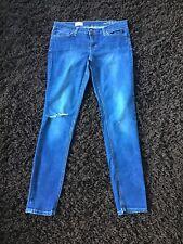 Ladies Gap Skinny Ripped Jeans Waist 28 Size 8