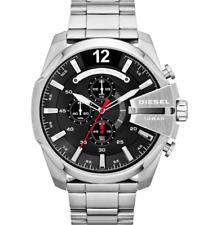 Diesel Mega Chief DZ4308 Black Chronograph Dial Stainless Steel Men's Watch