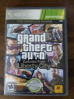 USED - Grand Theft Auto: Episodes From Liberty City (Microsoft Xbox 360, 2009)
