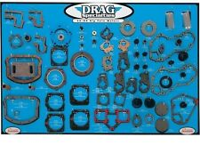 Gasket, Seal and O-Ring Display for Big Twins Drag Specialties  9340275