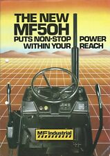 Equipment Brochure - Massey Ferguson - MF 50H - Loader Backhoe - 1984 (E5096)
