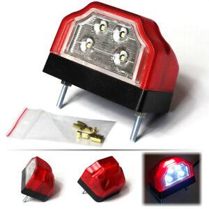 1x LED Kennzeichenleuchte 24V 12V LKW Nummerschildleuchte Kennzeichenbeleuchtung