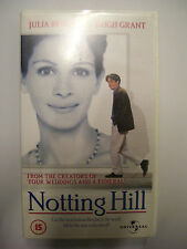 NOTTING HILL [1999] VHS – Hugh Grant, Julia Roberts