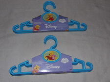 Disney Winnie the Pooh Kids Children Blue Hangers 4 Pack MIP