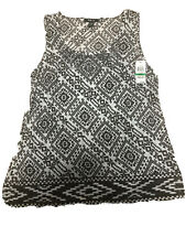 style co sleeveless top large