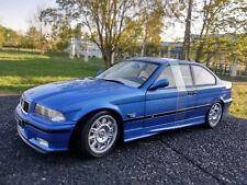 BMW coupé M3  E36 bleue Estoril Solido echelle 1/18eme neuve longueur 23cm