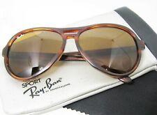 Ray-Ban USA Vintage 1980s B&L Vagabond B15 Sport Tortoise Exnt Sunglasses & Case
