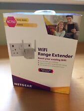 NETGEAR EX3700-100UKS AC750 WiFi Range Extender Dual Band
