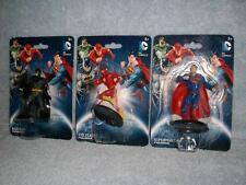 Superman The Flash Batman Figurines DC Comics Warner Bros Monogram 2015 New
