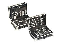 Meister Werkzeugkoffer Werkzeugkiste Steckschlüssel Werkzeug Werkzeugset 129 tlg