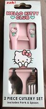 Hello Kitty club Amis Set de couverts 2 pièces NEW IN BOX