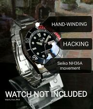 Seiko 5 SNZF15 SNZF17 Sea Urchin Movement upgrade to NH36 (4R36) MOD