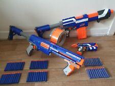 nerf gun elite bundle alpha trooper stock mag firestrike raider + bullets 32.99p