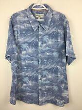 Margaritaville Mens Hawaiian Short Sleeve Jimmy Buffet Shirt Sz XL