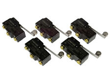 5 Lot Temco Heavy Duty 15a Micro Limit Switch Roller Lever Arm Spdt Snap Action