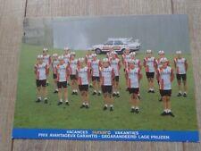 wielerkaart  1981 boule d'or colnago   freddy maertens