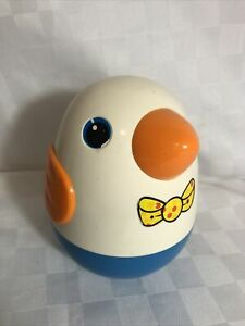 Vintage Playskool Rolly Polly Bird Made in Korea Bell Sounds Great