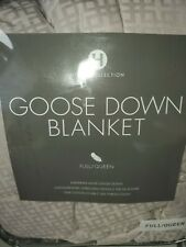 Hotel Collection Goose Down Blanket Full/ Queen Price 400.00