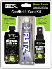 Flitz Gun and Knife Care Kit Cleaner Polish Wax and Microfiber Cloth KG 41501
