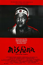 MISHIMA: A LIFE IN FOUR CHAPTERS (1985) ORIGINAL MOVIE POSTER  -  ROLLED