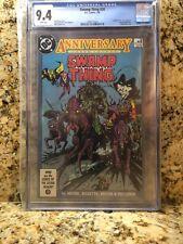 Swamp Thing #50 Anniversary (Jul 1986, DC) White Pages CGC 9.4