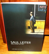 New Saul Leiter Here's Heres More Why Not 34 Photographs Third ED Catalogue PB