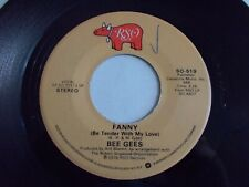 The Bee Gees Fanny / Country Lanes 45 1975 RSO Vinyl Record