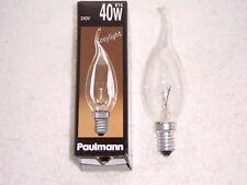 7 St. Paulmann Windstoss Kerzenlampe Cosylight 513.40 klar 40 Watt E14 240 V