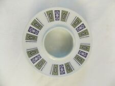 Noritake Ash Tray/Candle Holder- Ridgewood 891, rare green/purple