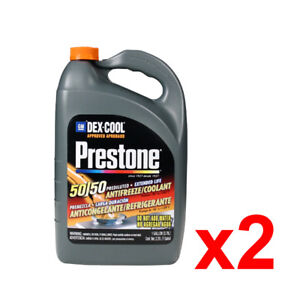Prestone AF850/1F Dex-Cool 50/50 Prediluted Extended Life Antifreeze - 2 Pack
