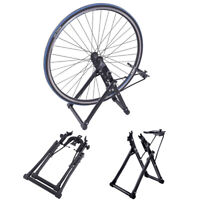 Cycle Bike Wheel Truing Stand Foldable Bicycle Support Repair Maintenance Tool