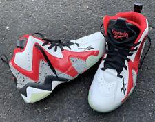 Reebok Kamikaze 2 Retro Shawn Kemp Mens 11 Cement Blazers Red White 2013