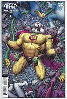 Dark Nights Death Metal Multiverse's End #1 2020 1:25 Adams Incentive Variant DC