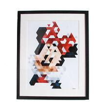 Disney Minnie Pixels Framed Print (Was £40)