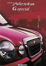 SUBARU PLEO NESTA G-Special Nippon Prospekt Brochure JAPAN Asia 2000 51