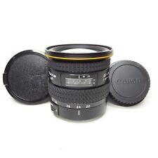 EXCELLENT Tokina AF 20-35mm f3.5-4.5 Wide Angle Lens For Canon EF