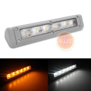200mm LED Awning Light 12V Exterior RV Caravan Boat Wall Lamp Cool White/Amber