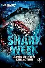 NEW 2DVD SET / DISCOVERY CHANNEL SHARK WEEK // JAWS OF STEEL // LENTICULAR