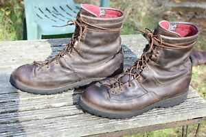 VTG DANNER 61800 200gm GORE TEX LEATHER HUNTING BOOTS 11.5 D
