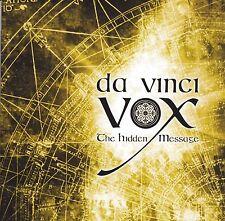 cd-album, Da Vinci Vox - The Hidden Message, MINT