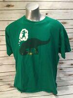 Shirt Woot Humor - T-Rex Tyrannosaurus Genie Lamp Wish I Want to Be A Dinosaur