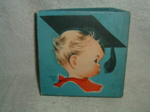 15 VTG 1940's Whipper Snappers Greeting Birthday Cards by CHARLOT BYJ w/Box