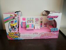 The Powerpuff Girls - Flip to Action Playset New in box! Bubbles Professor